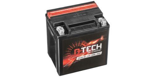 Baterie 12V, FIX30 l-BS, 31,5Ah, 385A, bezúdržbová MF AGM 166x126x175, A-TECH (vč. balení elektrolytu)