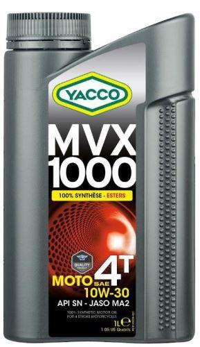 Motorový olej YACCO MVX 1000 4T 10W30, YACCO (4 l)