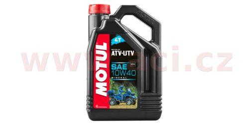MOTUL ATV-UTV 4T 10W-40 4 l