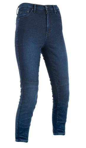 ZKRÁCENÉ kalhoty ORIGINAL APPROVED JEGGINGS AA, OXFORD, dámské (legíny s Kevlar® podšívkou, modré indigo)