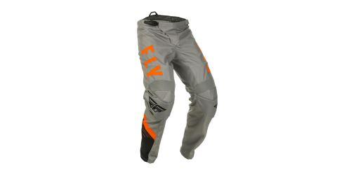 Kalhoty F-16 2020, FLY RACING (šedá/černá/oranžová)