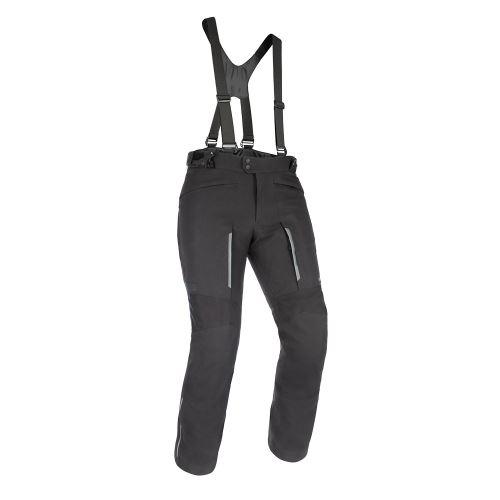 PRODLOUŽENÉ kalhoty HINTERLAND 1.0 DRY2DRY™, OXFORD ADVANCED (černé)