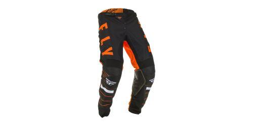 Kalhoty KINETIC K120, FLY RACING (oranžová/černá/bílá)
