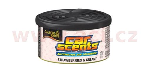 California Scents Car Scents (Jahody se šlehačkou) 42 g