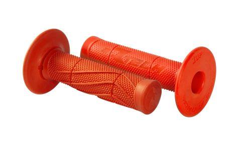 Gripy Wave (měkké), RTECH (oranžové, pár, délka 118 mm)
