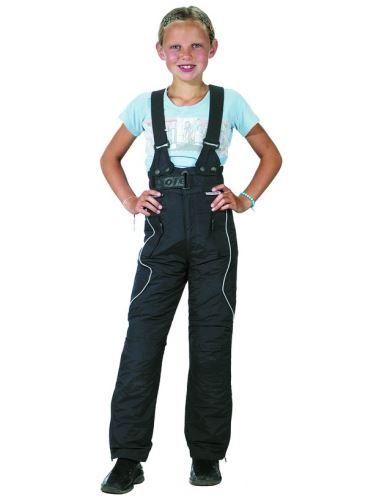 Laclové kalhoty Taslan, ROLEFF, dětské (černé)