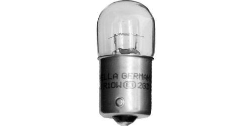 Žárovka R10W 12V 10W (patice BA15s) HELLA (sada 10 ks)