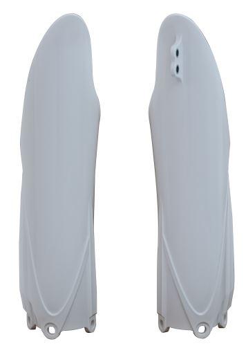 Chraniče vidlic Yamaha, RTECH (bílé, pár)