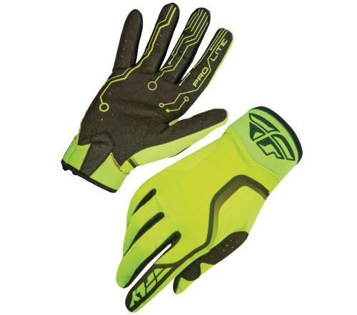rukavice Pro-Lite, FLY RACING - USA (fluo/černá)