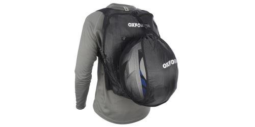 Ochranný batoh na přilbu X Handy Sack, OXFORD - Anglie (černý, objem 1,5 l)
