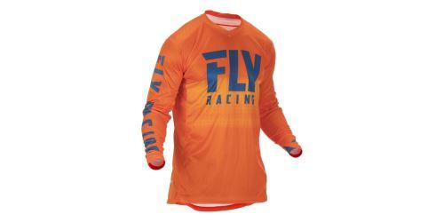 Dres LITE 2019, FLY RACING (oranžová/modrá)