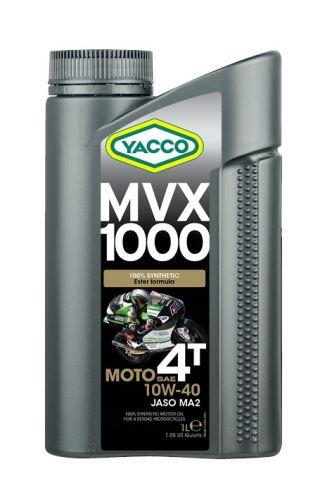 Motorový olej YACCO MVX 1000 4T 10W40, YACCO (4l)