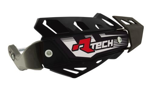 Kryty páček FLX ATV, RTECH (černé, 4 varianty v 1, vč. montážní sady, průměr konusu 14 a 18 mm)