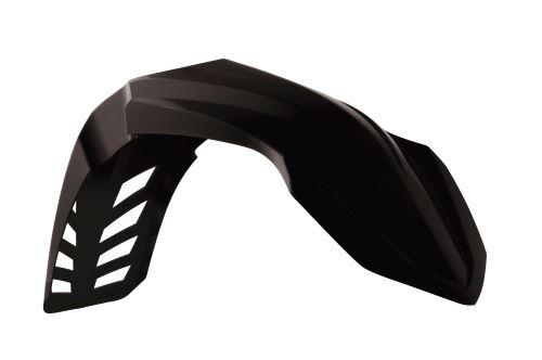 Blatník přední univerzální Motokros, RTECH (černý, s průduchy)