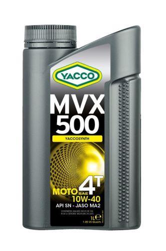 Motorový olej YACCO MVX 500 4T 10W40, YACCO (4l)