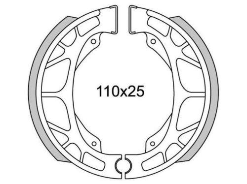 Brzdové obložení (standardní materiál) NEWFREN (2 ks v balení)