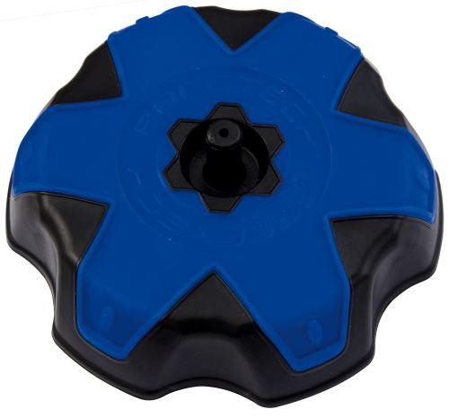 Víčko nádrže Yamaha, RTECH (černá/modrá)