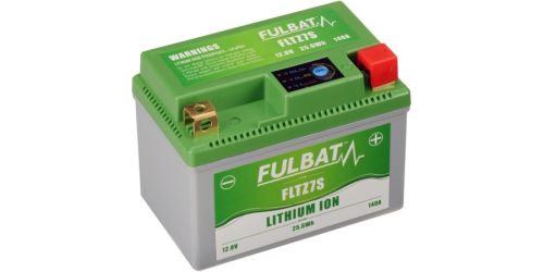Lithiová baterie  LiFePO4  FULBAT  12V, 2Ah, 140A, hmotnost 0,42 kg, 113x70x85 nahrazuje typy: (CTZ7S-BS, CBTX7L-BS)
