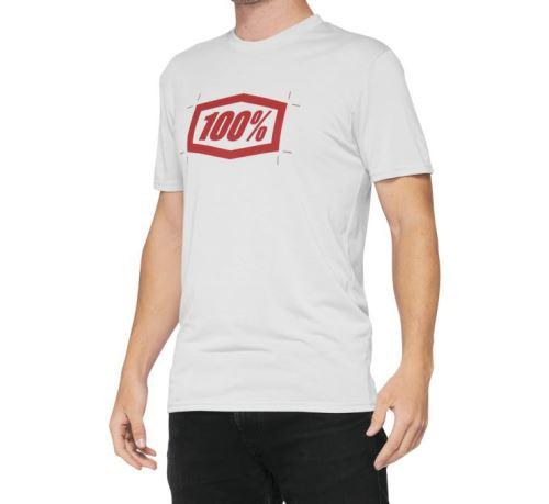 Triko CROPPED, 100% - USA (bílé)