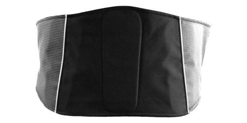 Ledvinový pás, ROLEFF (černý, s reflexními prvky)