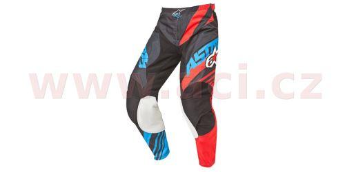 Kalhoty Racer Supermatic, ALPINESTARS - Itálie (černá/červená/modrá, vel. 30)
