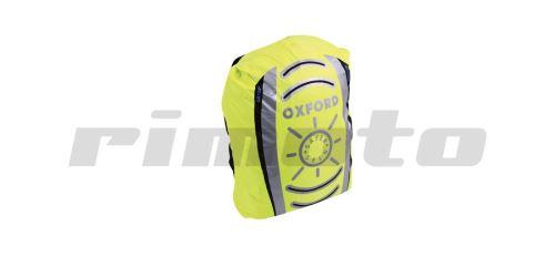 reflexní obal/pláštěnka batohu, OXFORD - Anglie (žlutá fluo, Š x V  640 x 720mm)