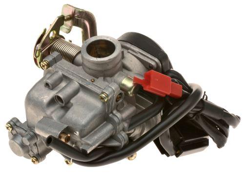 Karburátor s pumpičkou (pro sadu na zvýšení objemu na 100ccm)