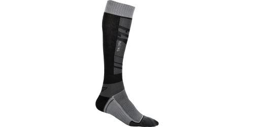 Ponožky dlouhé Knee Brace, FLY RACING (černá/šedá)
