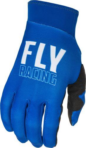 Rukavice PRO LITE, FLY RACING - USA (modrá/bílá)