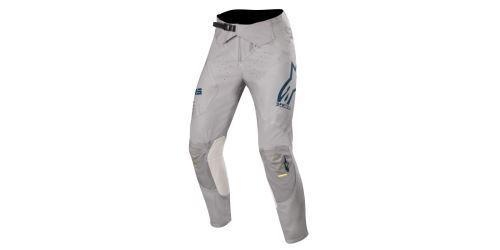 Kalhoty SUPERTECH 2020, ALPINESTARS (šedá/modrá/žlutá fluo)