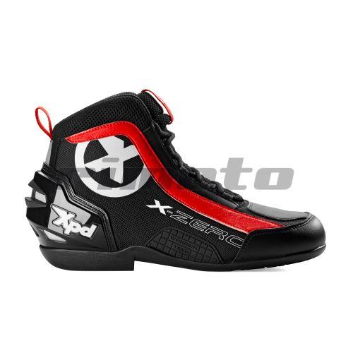boty X-ZERO, XPD - Itálie (černé/červené)
