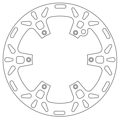 Brzdový kotouč KTM/Husqvarna/Gas Gas (přední), NEWFREN