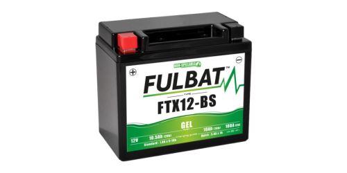 Baterie 12V, FTX12-BS GEL, 10Ah, 180A, bezúdržbová GEL technologie 150x87x130 FULBAT (aktivovaná ve výrobě)