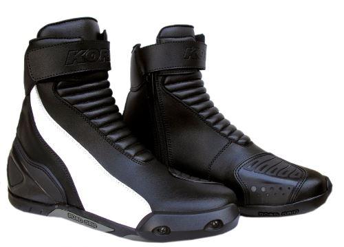 boty Semi-sport short, KORE (černé/bílé)