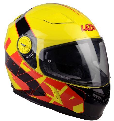 přilba Bayamo Reflex, LAZER - Belgie (žlutá fluo/černá/červená)