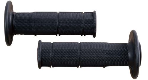 Gripy Racing (měkké), RTECH (černé, pár, délka 116 mm)