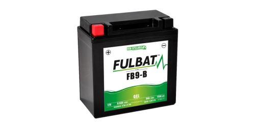 Baterie 12V, FB9-B , YTX9A-BS, 9,5Ah, 115A, bezúdržbová GEL 135x75x139, FULBAT (aktivovaná ve výrobě)