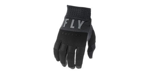 Rukavice F-16 2020, FLY RACING (černá/šedá)