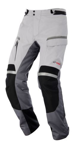 kalhoty Valparaiso Drystar, ALPINESTARS - Itálie (šedé/světle šedé/černé)