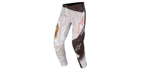 Kalhoty TECHSTAR FACTORY METAL 2020, ALPINESTARS (šedá/černá/měděná)