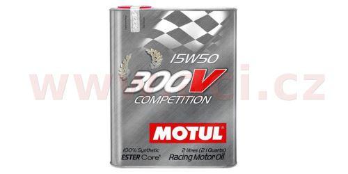 MOTUL 300V COMPETITION 15W-50, 2 l