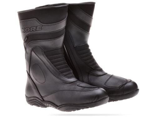 boty Touring Mid, KORE, unisex (černé)