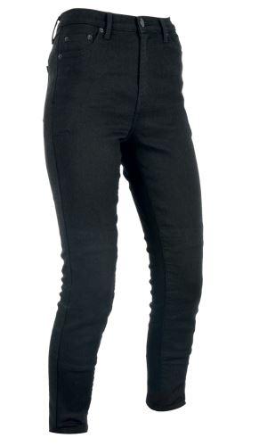 PRODLOUŽENÉ kalhoty ORIGINAL APPROVED JEGGINGS AA, OXFORD, dámské (legíny s Kevlar® podšívkou, černé)