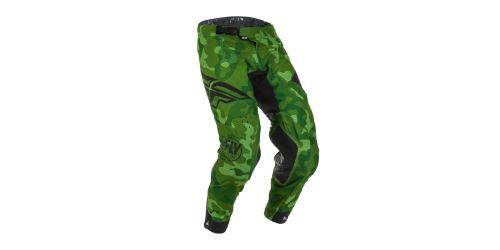 Kalhoty EVOLUTION 2020, FLY RACING -USA (zelená/černá)