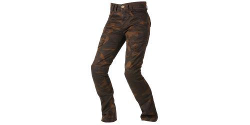 Kalhoty CAMINO, AYRTON, dámské (hnědé camo/seprané)