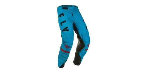 Kalhoty KINETIC K120, FLY RACING (modrá/černá/červená)