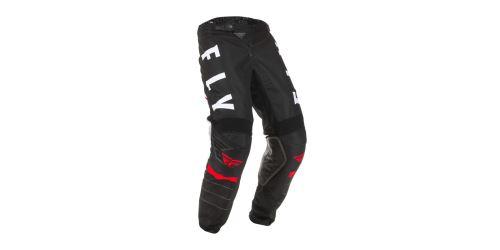 Kalhoty KINETIC K120, FLY RACING (černá/bílá/červená)